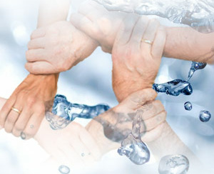 Team von boden & grundwasser Fotomonatage: boden & grundwasser ~